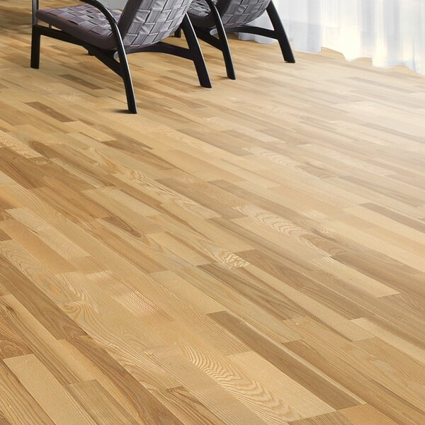Scandinavian Naturals 7-7/8 Engineered Ash Kalmar Hardwood Flooring by Kahrs