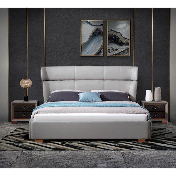 Maryn Upholstered Sleigh Bed by Orren Ellis