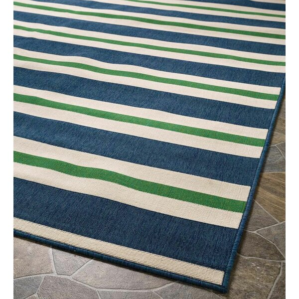 Lexington Blue Indoor/Outdoor Area Rug by Plow & Hearth