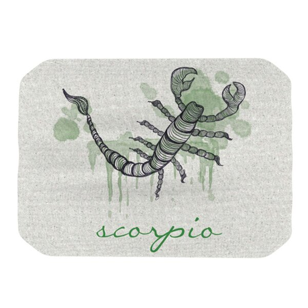 Scorpio Placemat by KESS InHouse