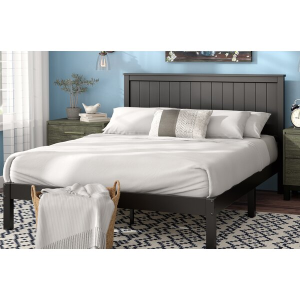 Holstein Wood Cottage Style Platform Bed by Laurel Foundry Modern Farmhouse