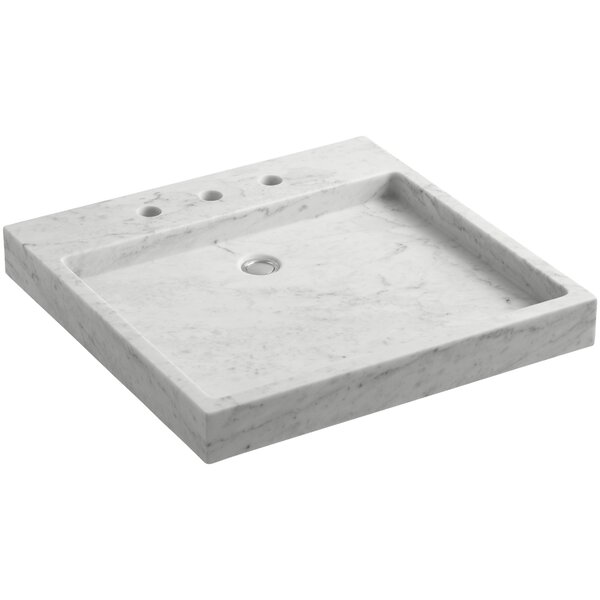 Purist® Stone Rectangular Drop-In Bathroom Sink by Kohler