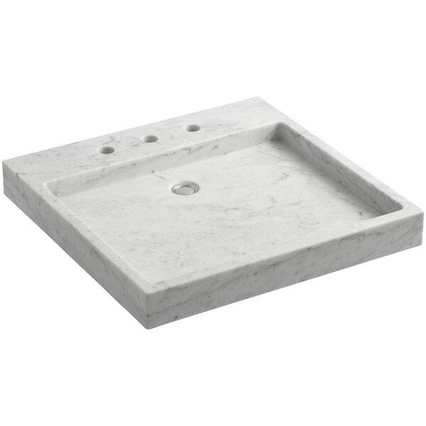Purist® Stone Rectangular Drop-In Bathroom Sink by Kohler
