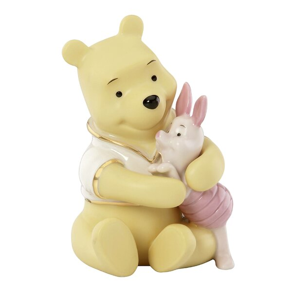 Disney Bear Hug for Piglet Figurine by Lenox