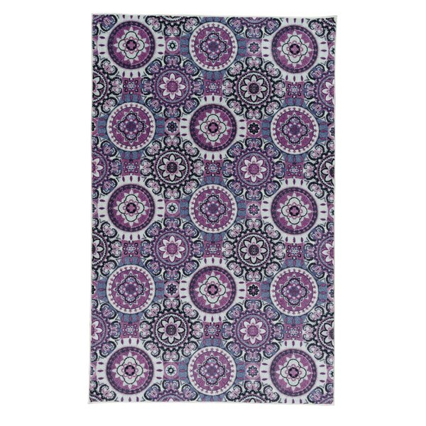 Amblewood Purple Area Rug by Bungalow Rose