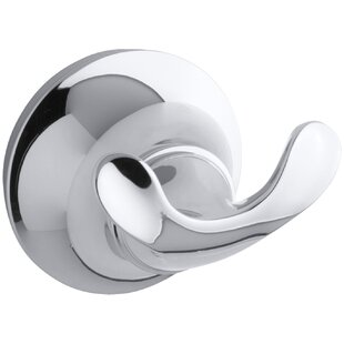 Comparison Forté Wall Mounted Double Robe Hook By Kohler