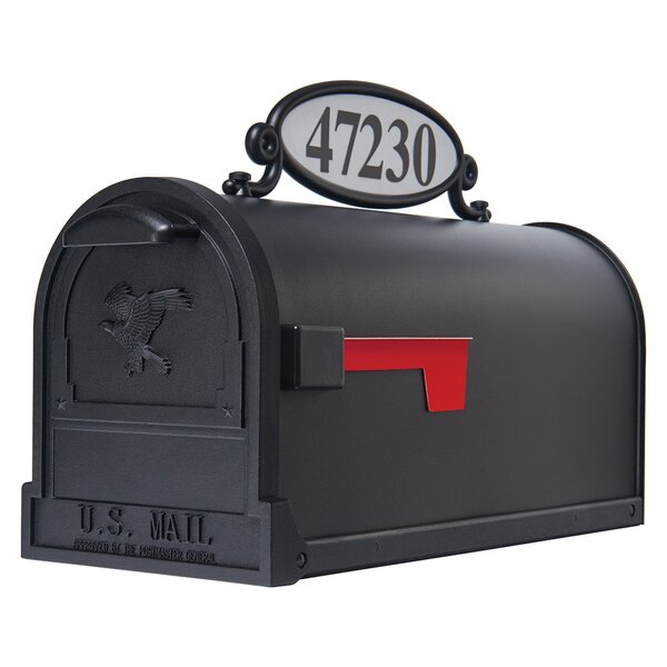 Reflective Mailbox Address Panel by Gibraltar Mail