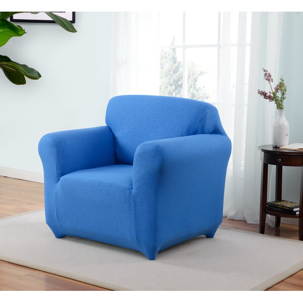 Box Cushion Armchair Slipcover by Latitude Run