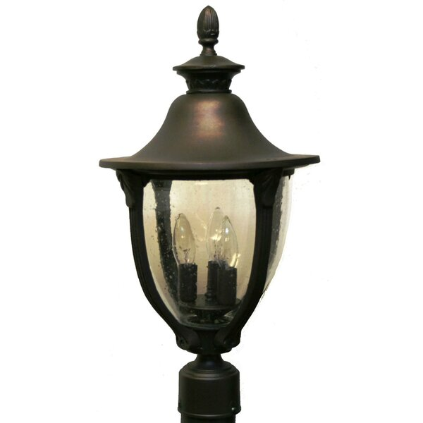 Phillipstown 3 Light Post Lantern by Alcott Hill