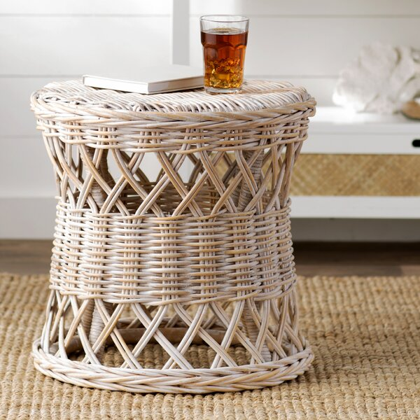 Sephina Drum End Table By Beachcrest Home