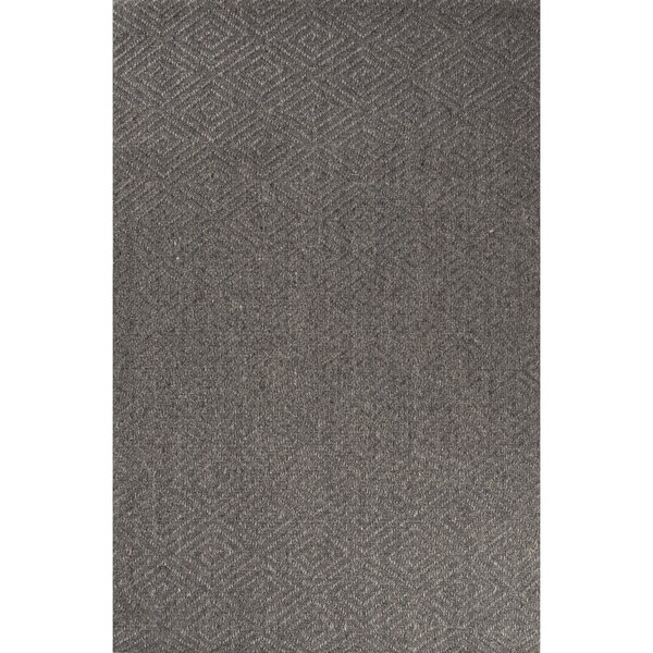 Raposa Hand-Woven Gray Area Rug by Bay Isle Home