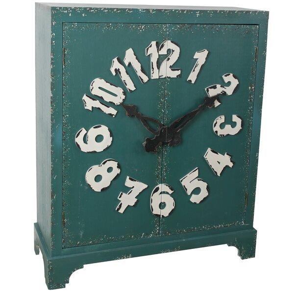 Evianna Clock Accent Cabinet by Red Barrel Studio Red Barrel Studio