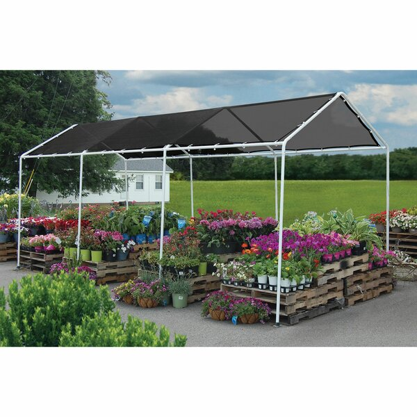 8 Ft. W x 20 Ft. D Steel Pop-Up Canopy by ShelterLogic