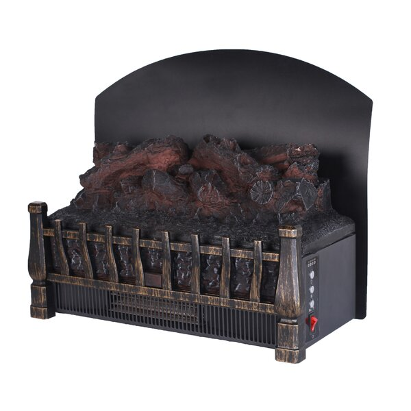 Stove Adjustable Electric Log Set Heater By Caesar Fireplace