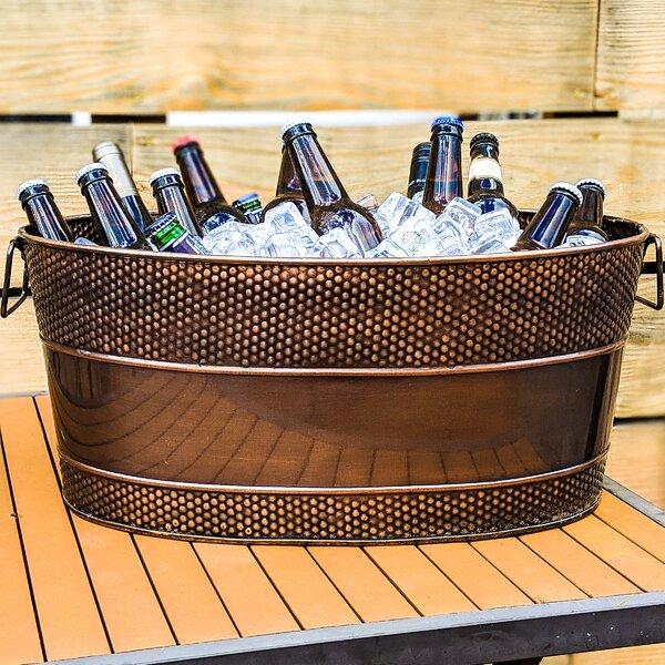 Wanita Hammered Galvanized Party Beverage Tub by Williston Forge