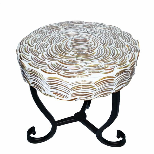 Cosey Mosaic Round End Table by World Menagerie