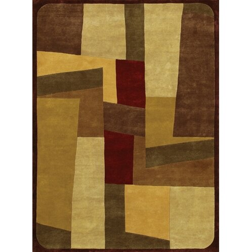 Caines Beige/Brown Area Rug by Fleur De Lis Living