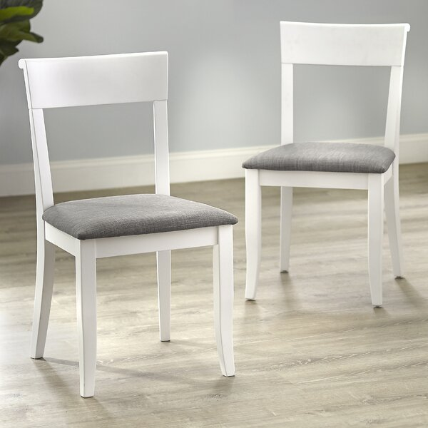 Alfred Solid Wood Dining Chair (Set of 2) by August Grove