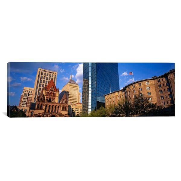 Panoramic Boston, Massachusetts, Copley Square Photographic Print on Canvas by iCanvas