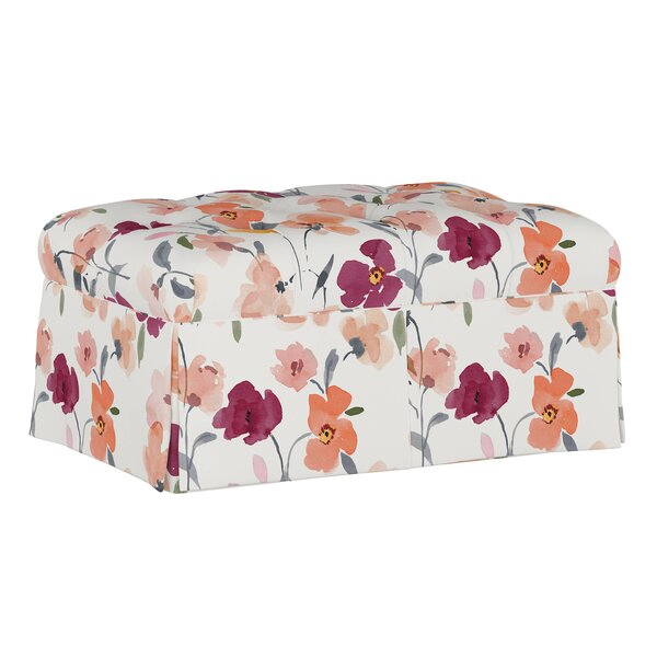Terrazzo Upholstered Storage Bench by Winston Porter