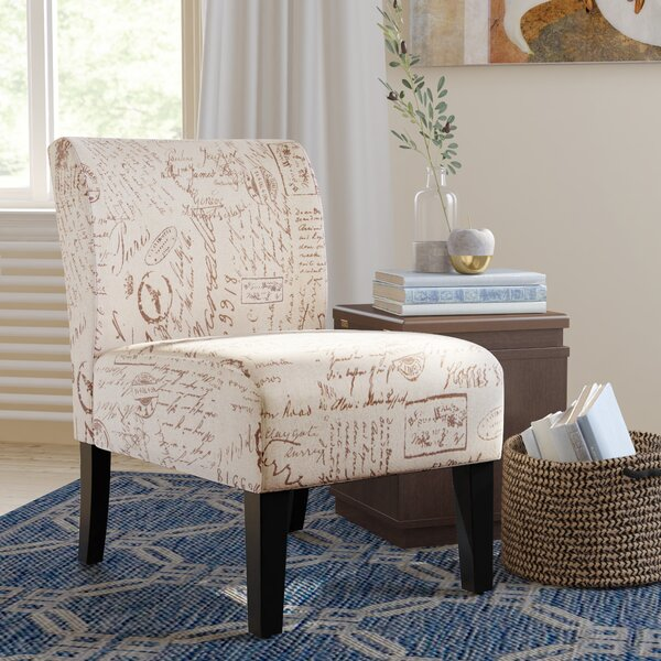Online Reviews Crescentia Slipper Chair by Winston Porter