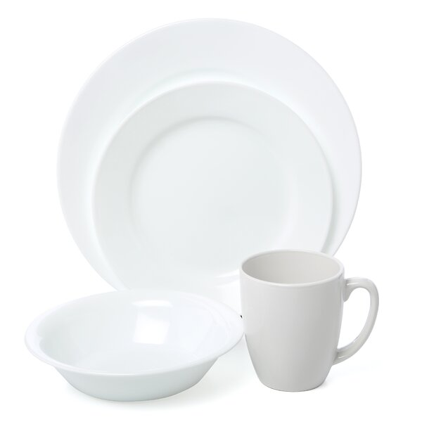 Vive 16 Piece Dinnerware Set, Service for 4 by Corelle