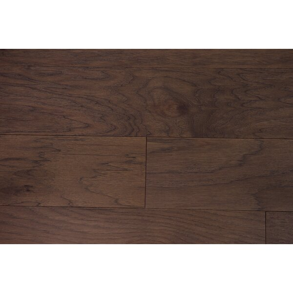 Lisbon 5 Engineered Hickory Hardwood Flooring in Mocha by Branton Flooring Collection