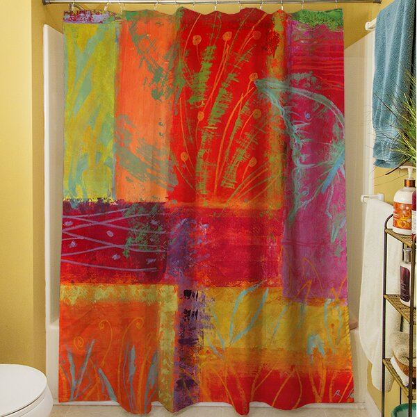 Samons Shower Curtain by Latitude Run