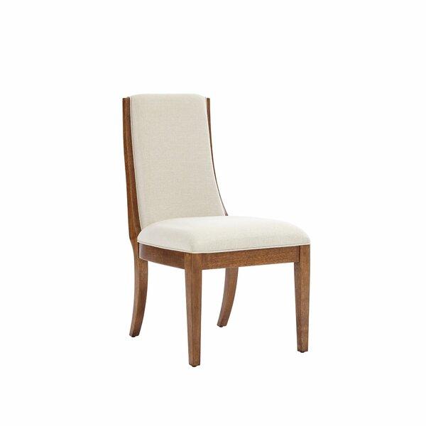 Panavista Linen Upholstered Parsons Chair