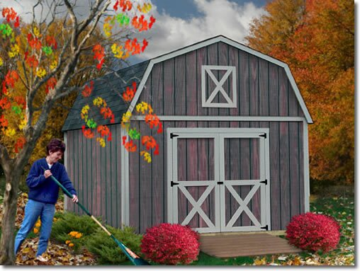 Denver Solid Wood Storage Shed by Best Barns
