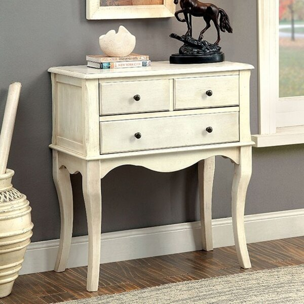 Tonia 3 Drawer Half Circle Accent Chest By Highland Dunes