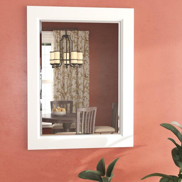 Rhee Framed Rectangle Wall Mirror by Red Barrel Studio