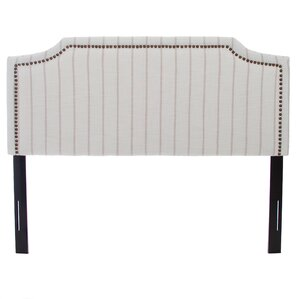Heyshire Upholstered Panel Headboard by Home Loft Concepts