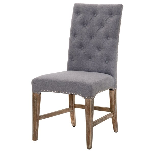 Parfondeval  Traditional Upholstered Dining Chair (Set of 2) by Lark Manor