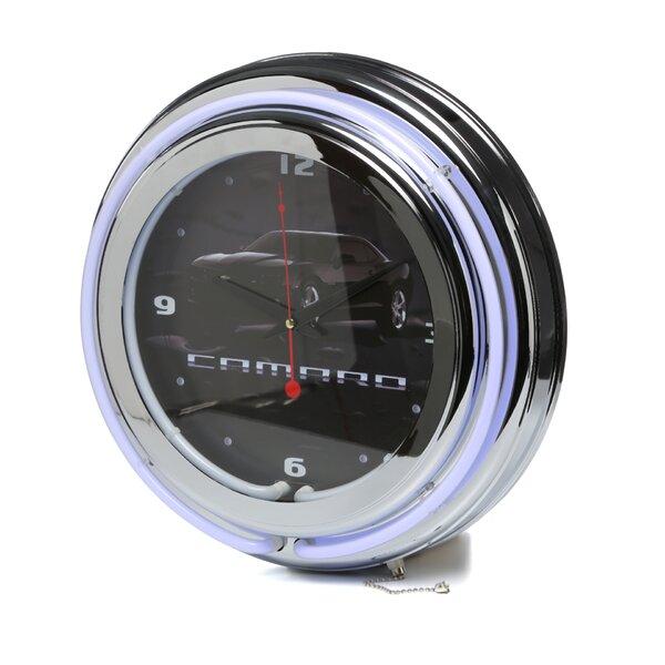 14 Camaro Wall Clock by Trademark Global