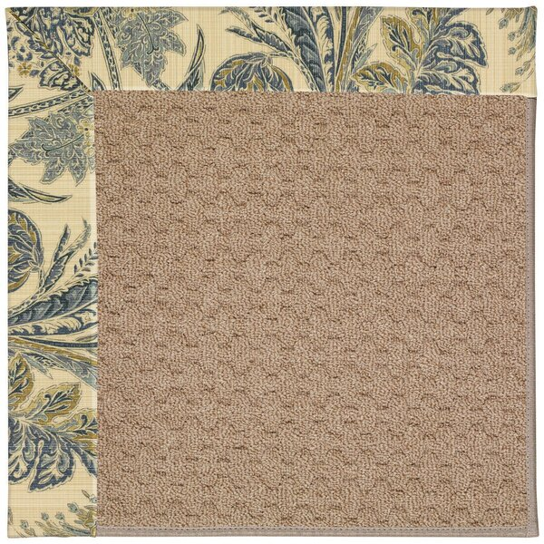 Lisle Machine Tufted High Seas/Brown Indoor/Outdoor Area Rug by Longshore Tides