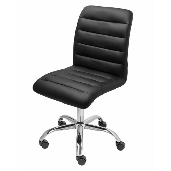 Parkland Mid-Back Armless Desk Chair by Wrought Studio