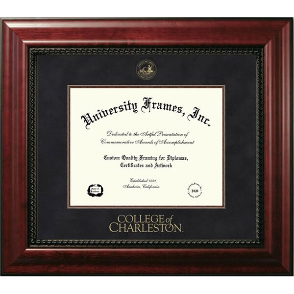 Diploma Frame Deals College Of Charleston Executive Picture Frame Wayfair
