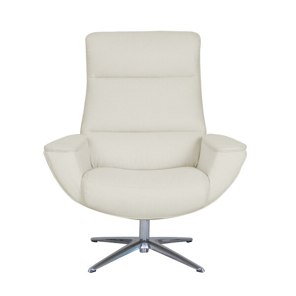 Logan Collaboration Swivel Armchair by Serta at Home