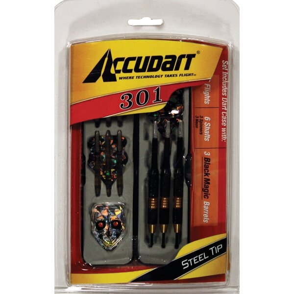 301 Dart Set - Steel Tips by Accudart