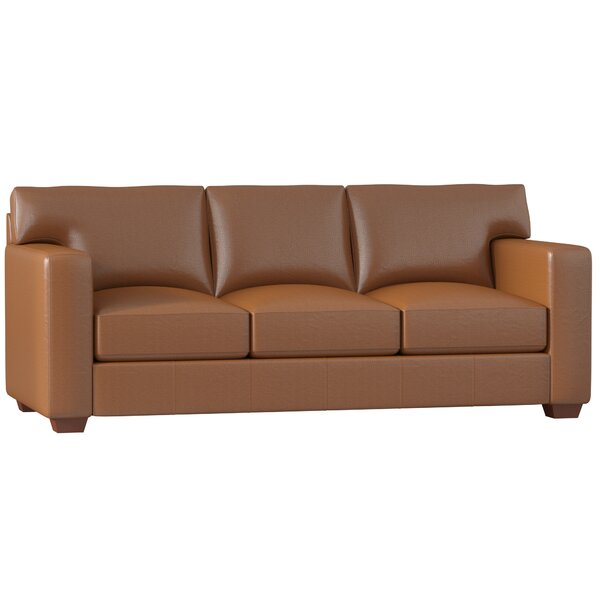 Pratt Leather Sofa by Birch Lane™ Heritage