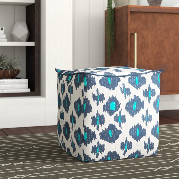 Filipina Global-Inspired Pouf by Mercury Row