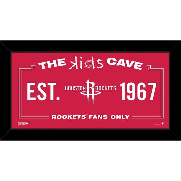 Kids Cave Framed Graphic Art by Steiner Sports