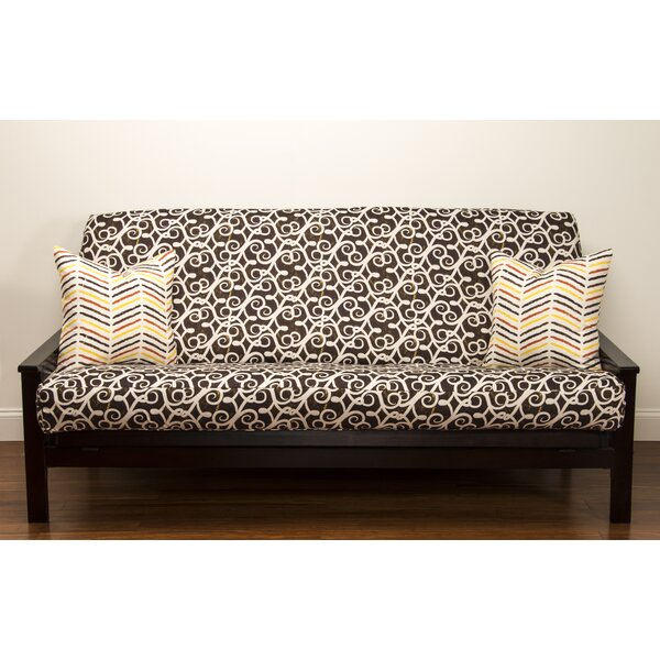 Sabine Zipper Futon Slipcover By Siscovers