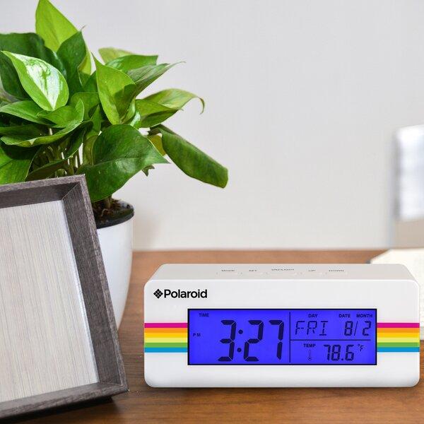 Digital Alarm Clock by Polaroid