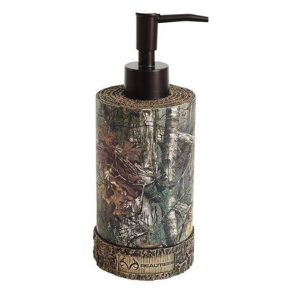 Xtra Soap & Lotion Dispenser by Realtree Bedding
