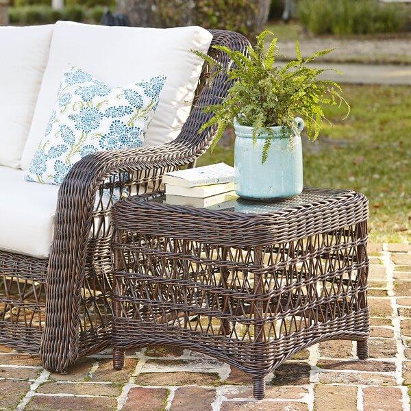 Rosemead Wicker Side Table by Birch Lane™