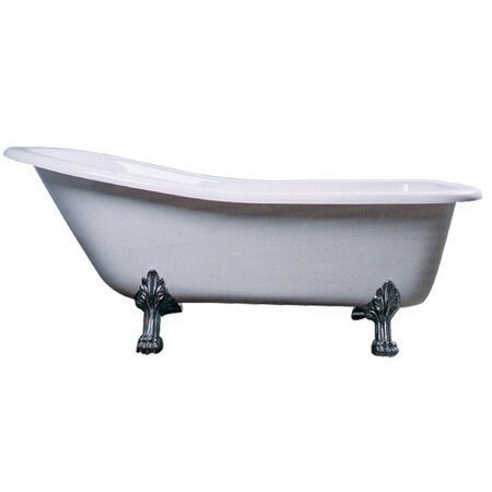 Aqua Eden 67 x 28 Freestanding Soaking Bathtub by Kingston Brass