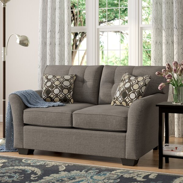Modern Beautiful Ashworth Loveseat by Andover Mills by Andover Mills