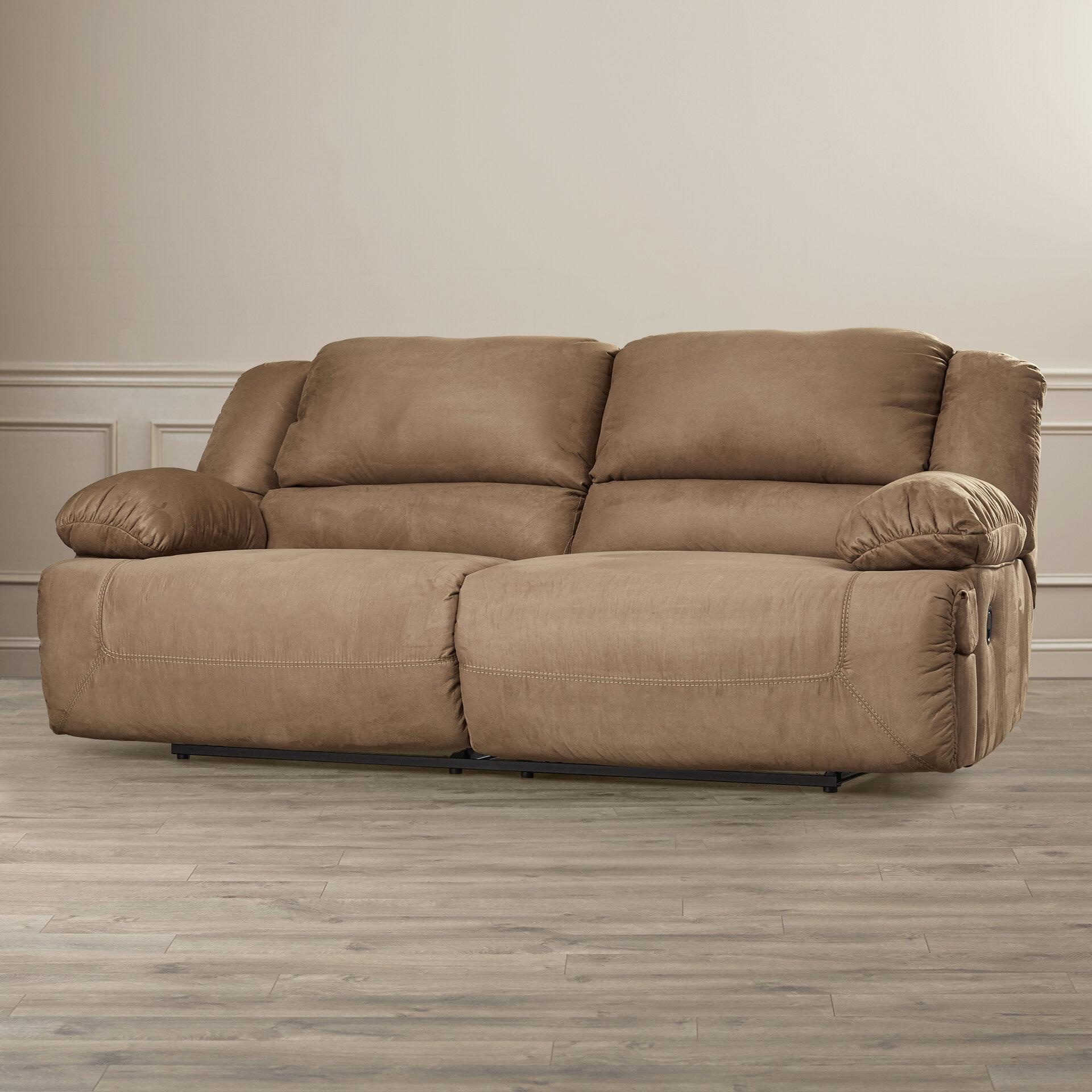 Darby Home Co Jimenes Two Seat Reclining Sofa U0026 Reviews | Wayfair